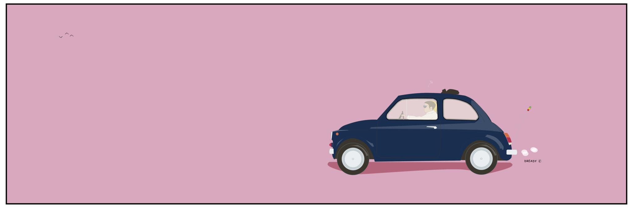 Dready Ciao Mennagio - Fiat 500