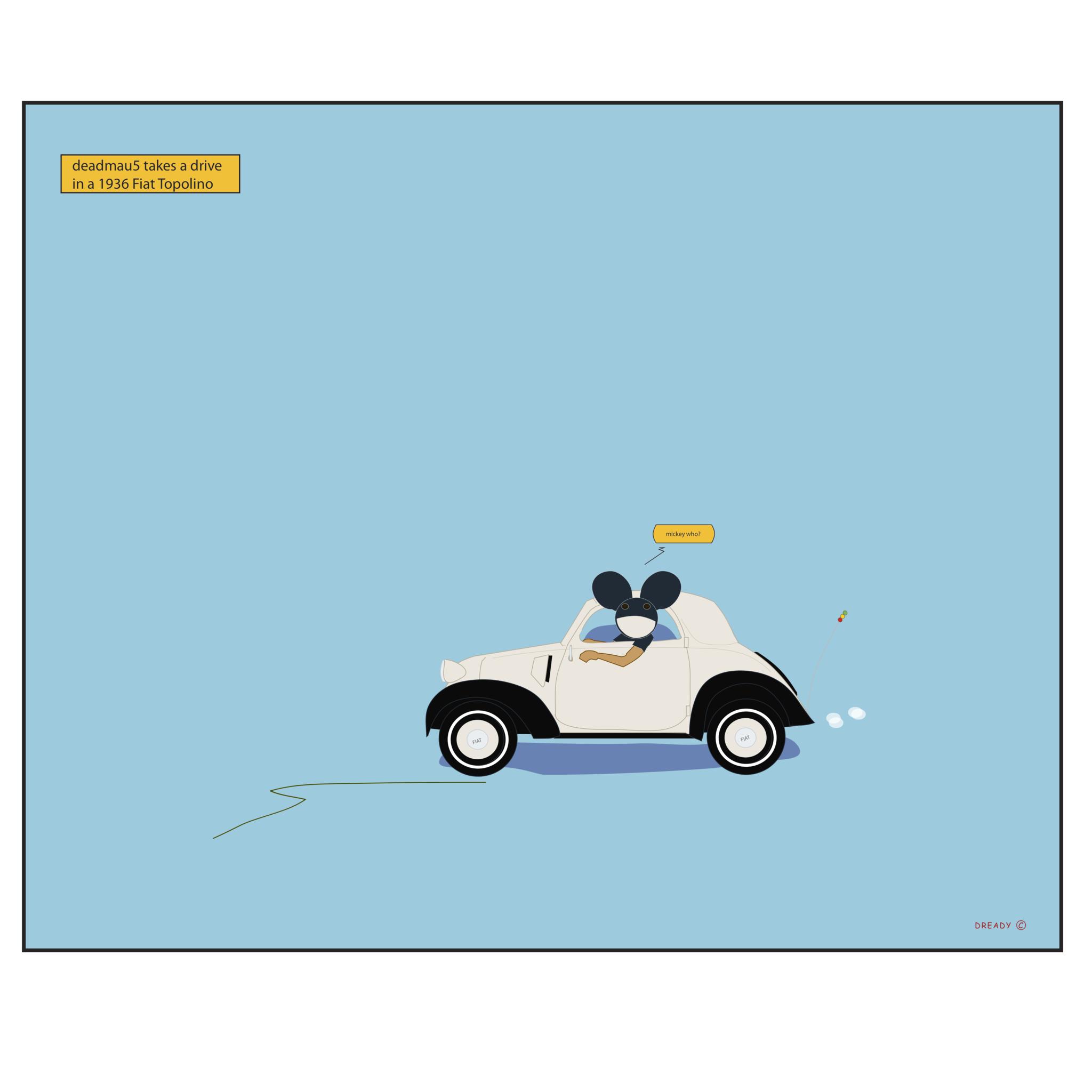 Fiat Topolino - deadmau5