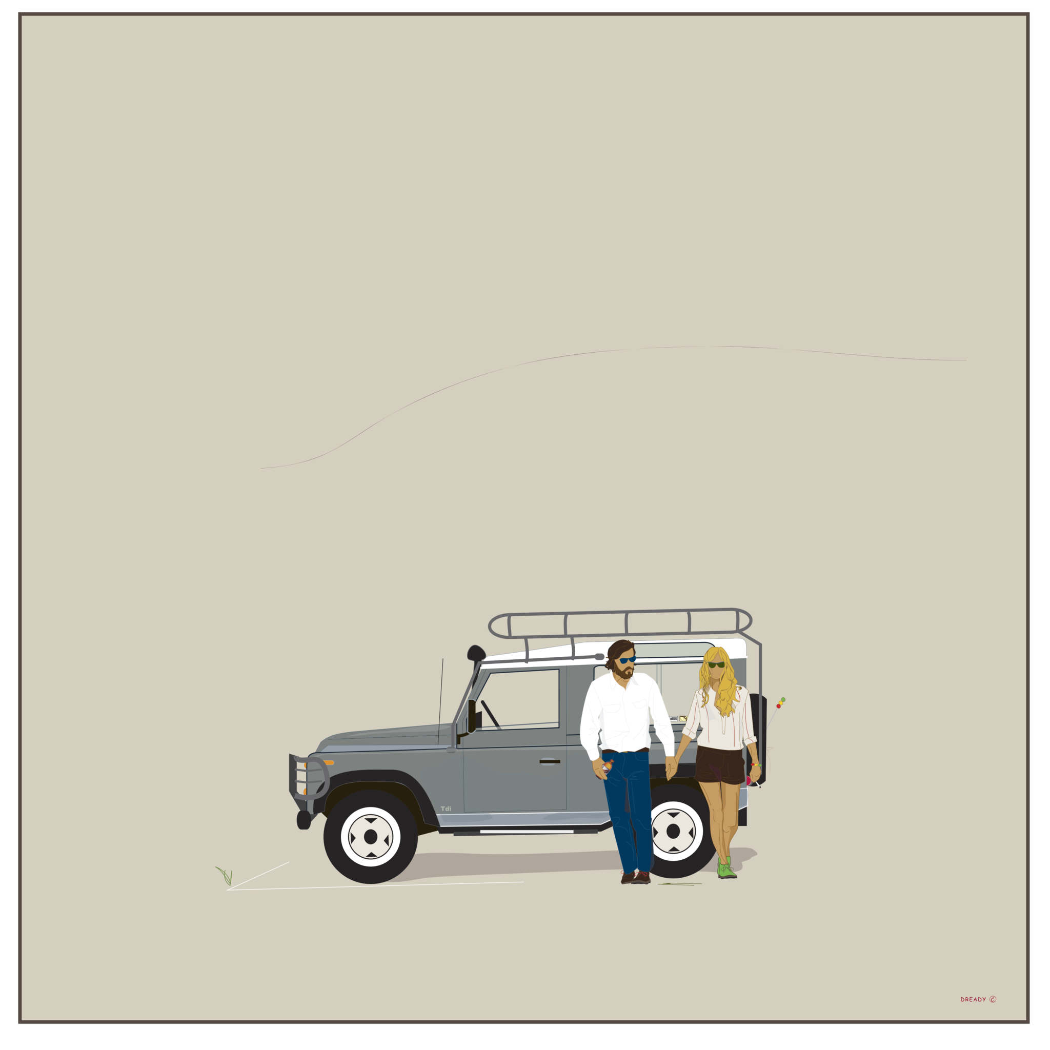These Small Hours - Land Rover