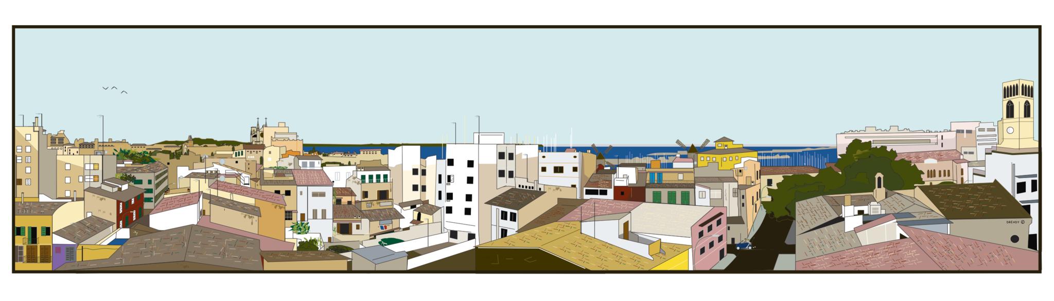 Linda Vista - Panorama of Palma Mallorca