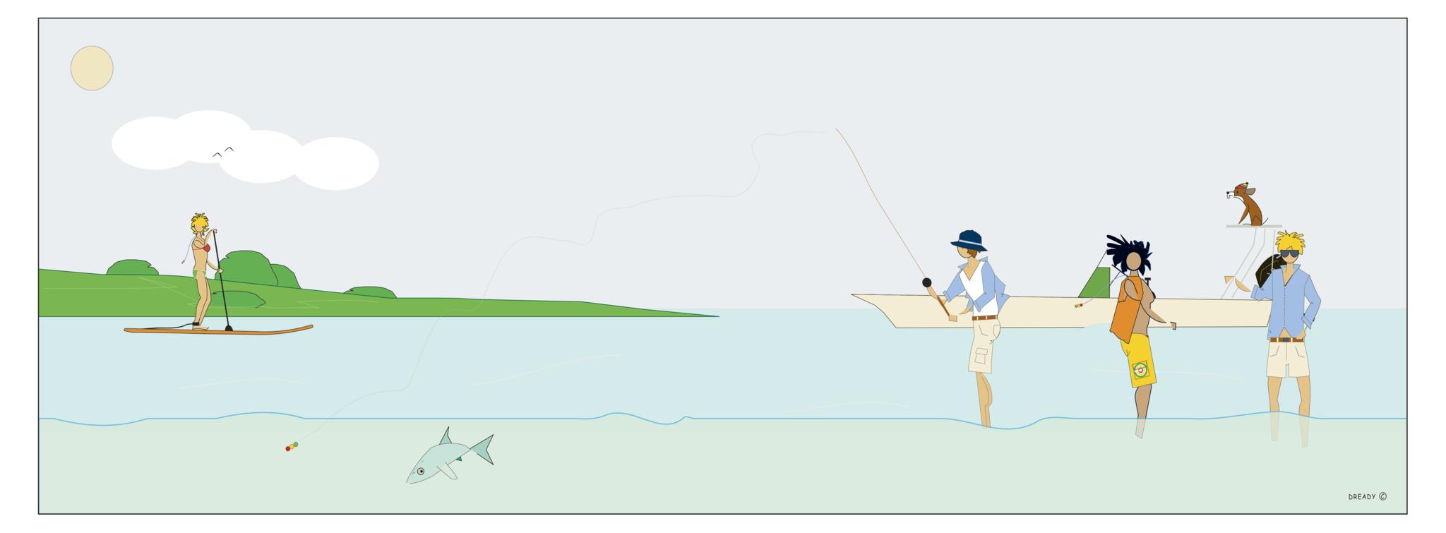 Dready Bone Fishing #2