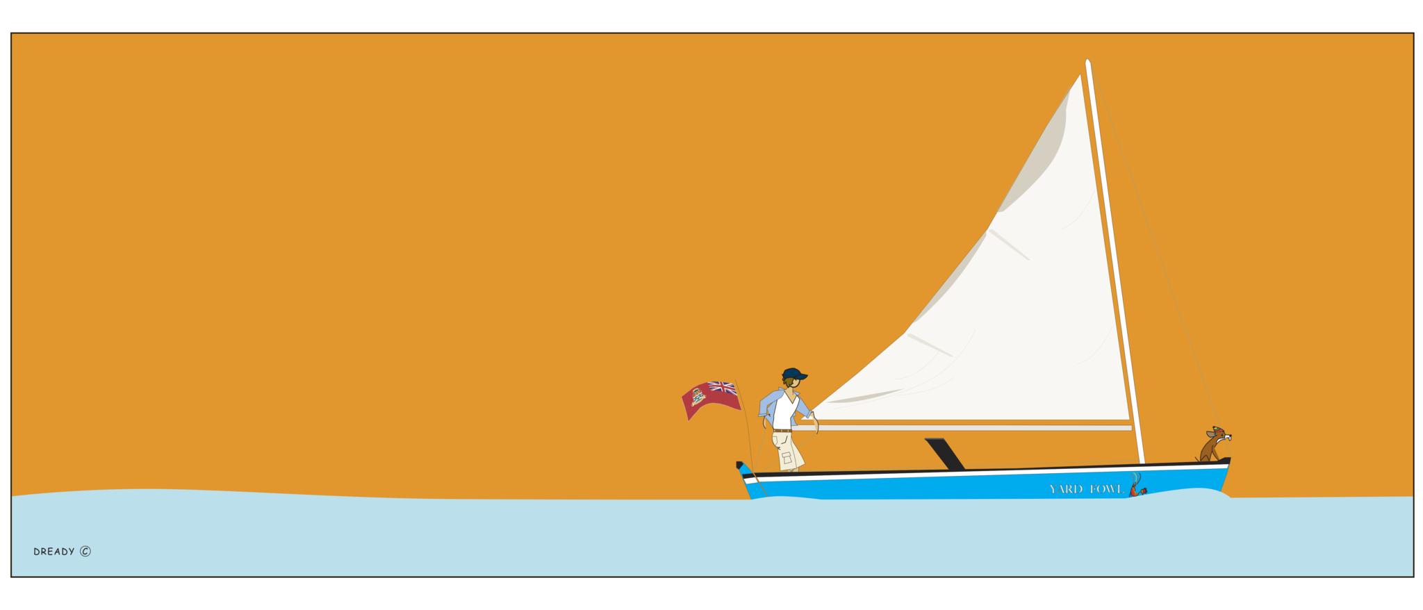 Dready Cayman Catboat