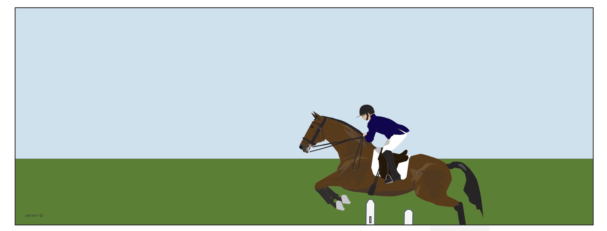Jumping Horse - Boy