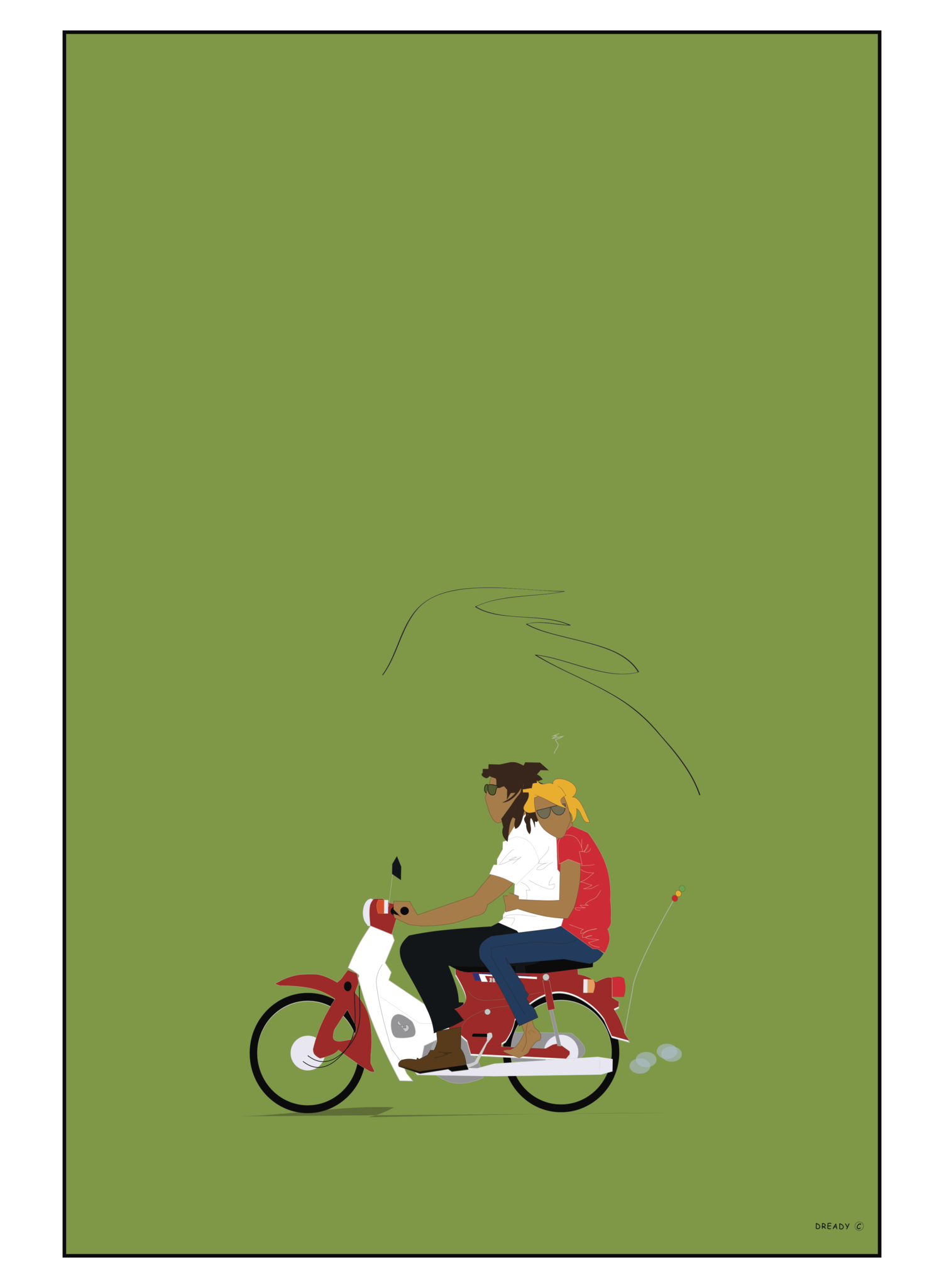 Honda 50 - Trustafarians 2014