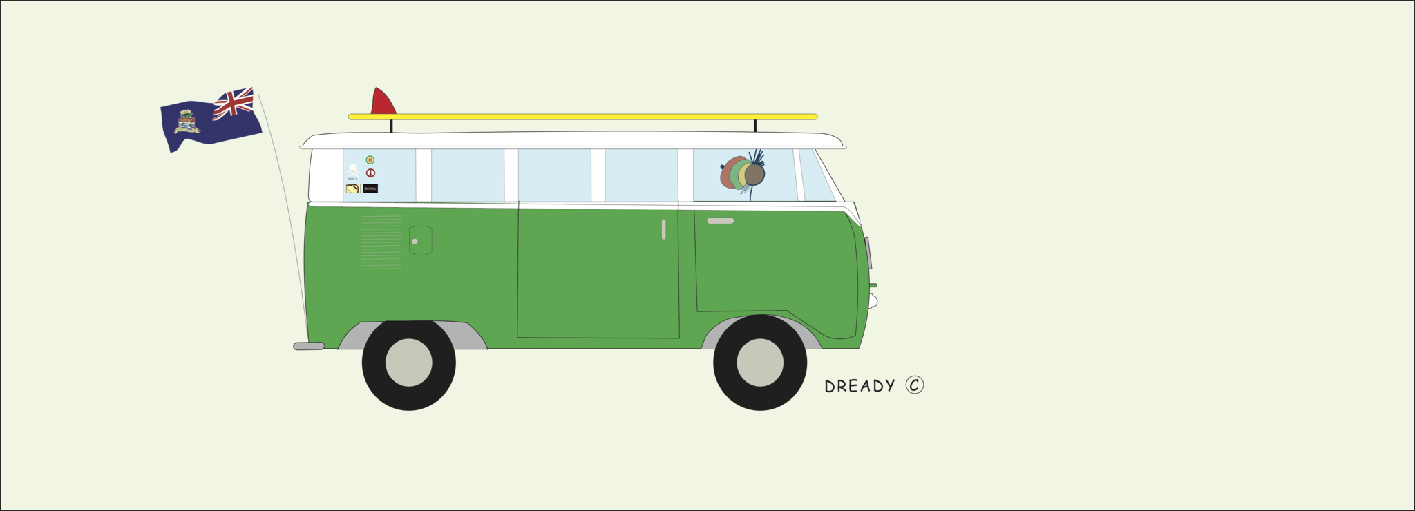 Dready Volkswagen Bus - VDub