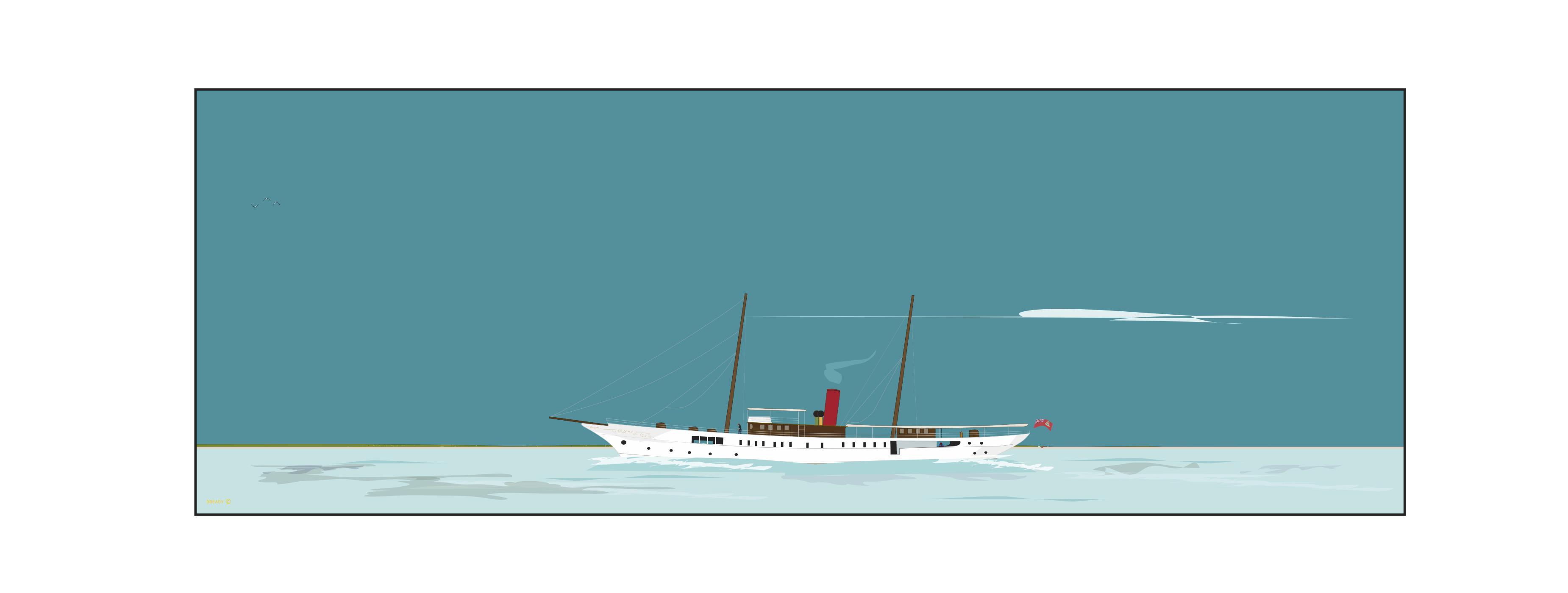 Dready Boat - Webster Line - 'Eros'