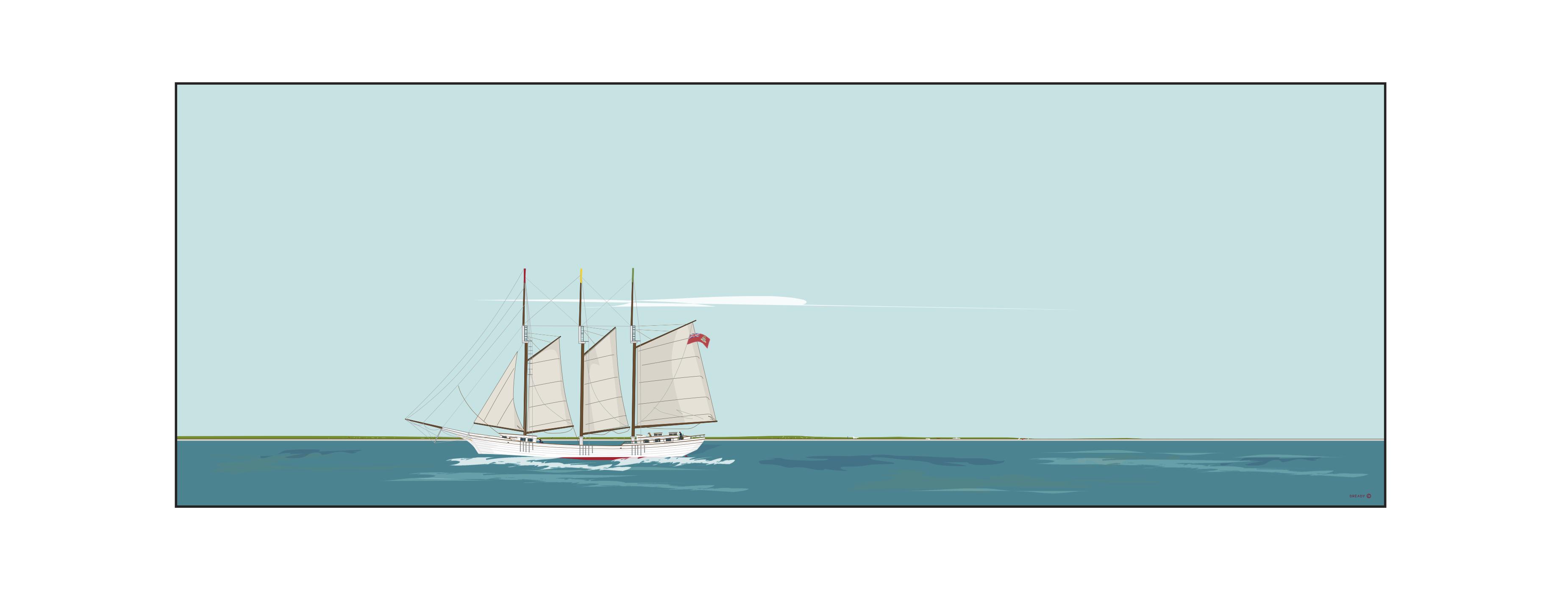 Dready Boat - Webster Line - 'Rosalie Belliveau'