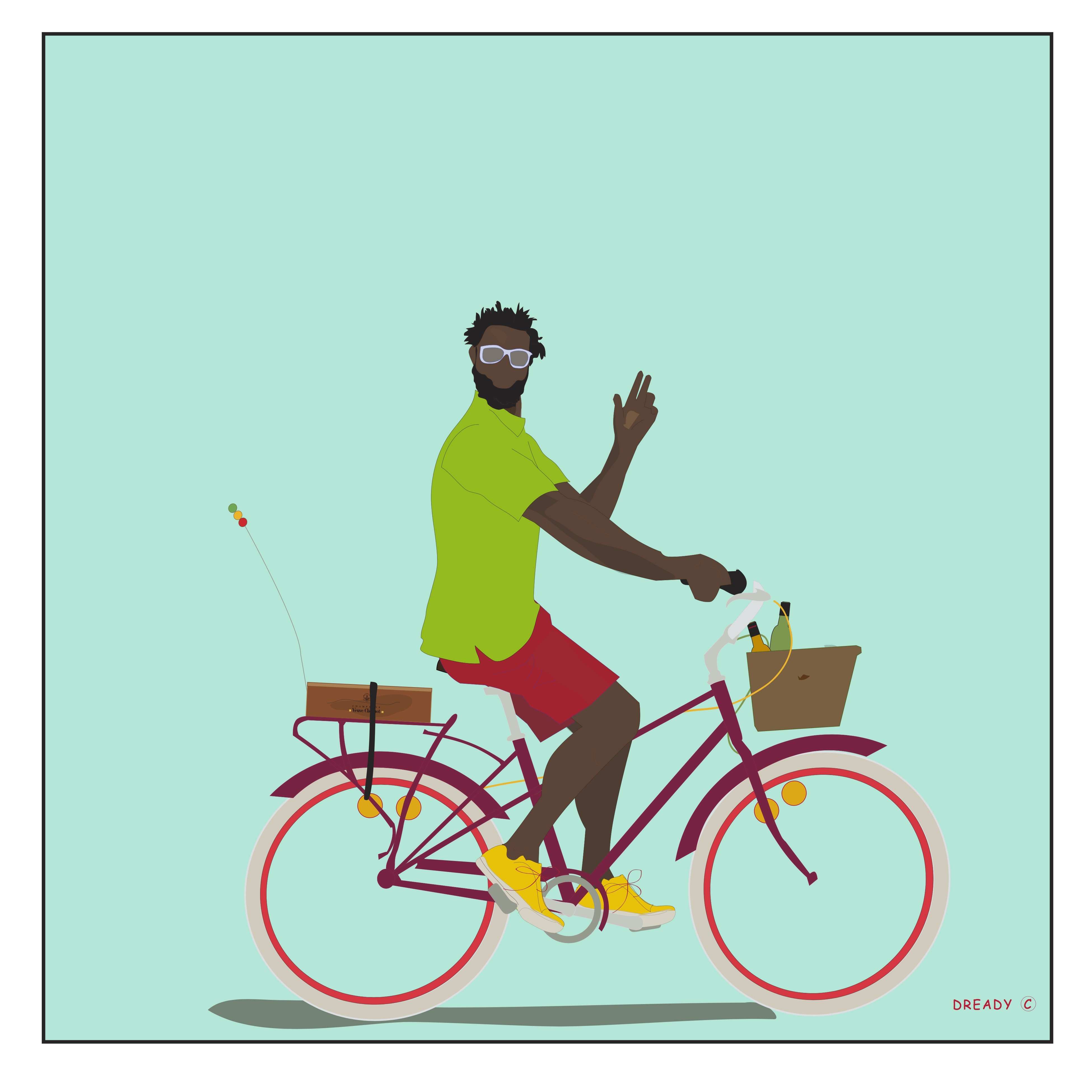 Bredderin Bicyclist