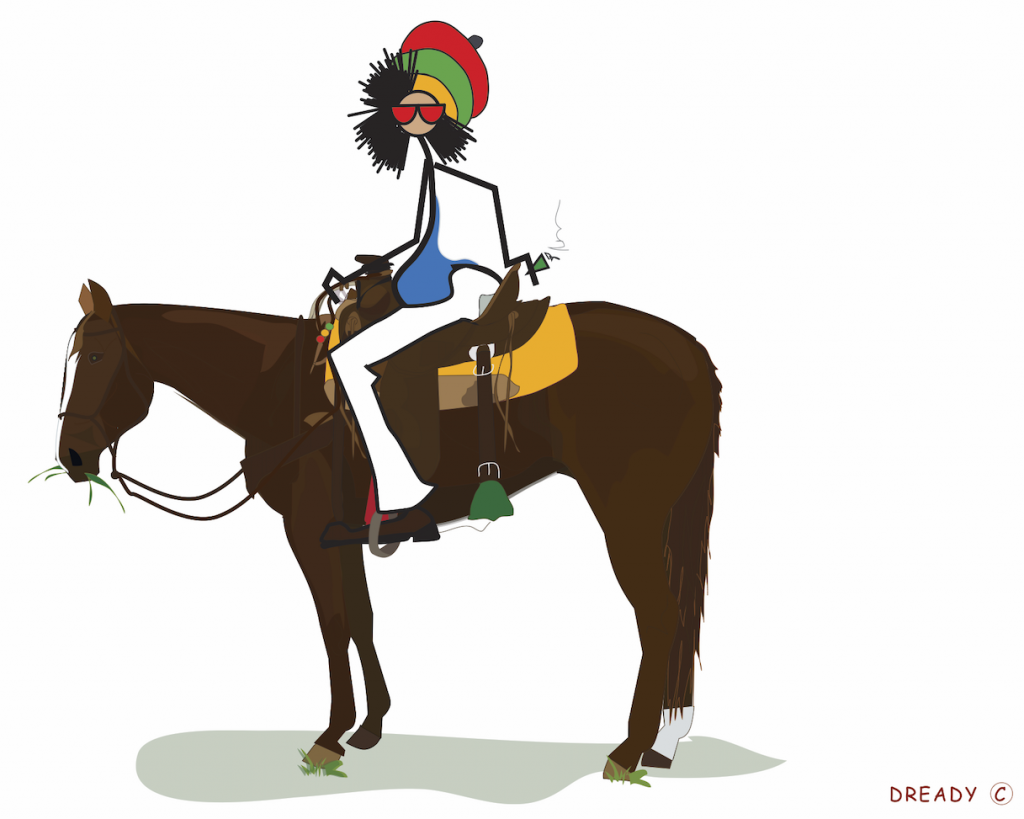 Dready, Dready Art and Everything Dready dready horse