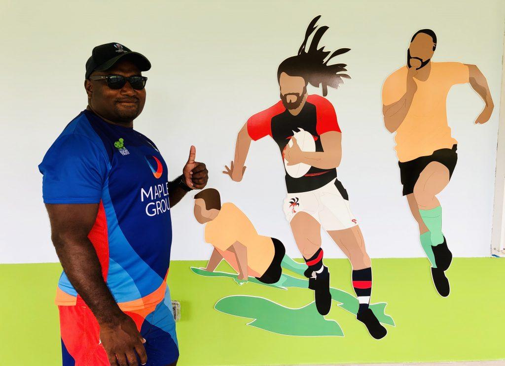 Dready, Dready Art and Everything Dready rugby club vanassio copy