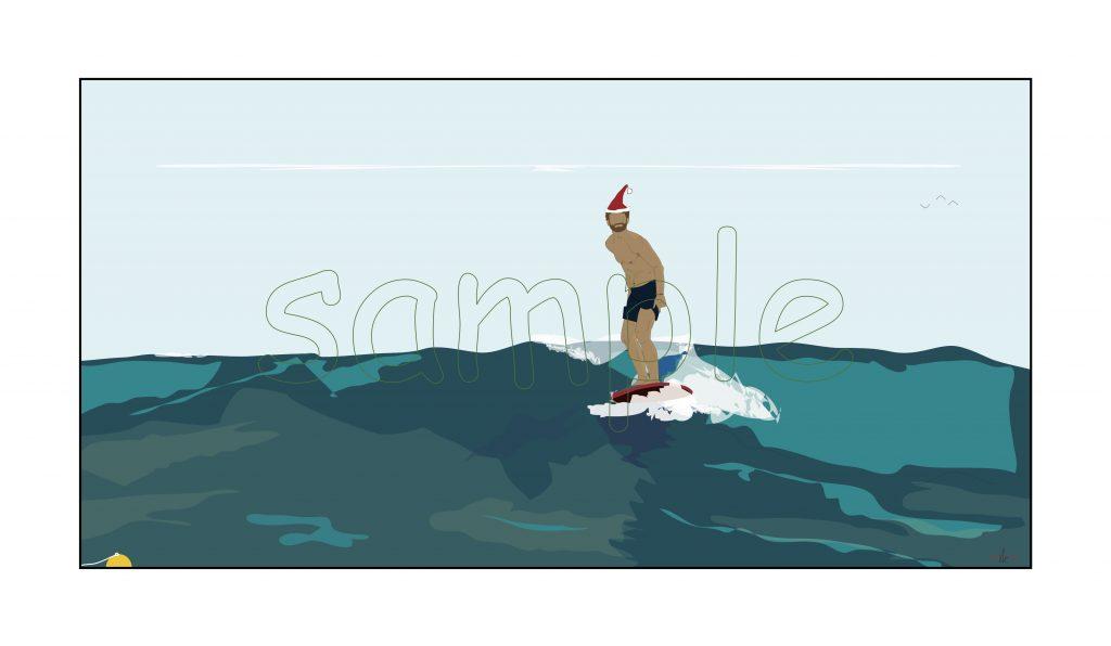 Dready, Dready Art and Everything Dready dready joys surfer 36x18 copy