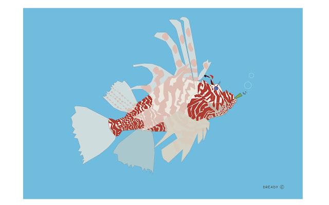 Dready, Dready Art and Everything Dready Lionfish2