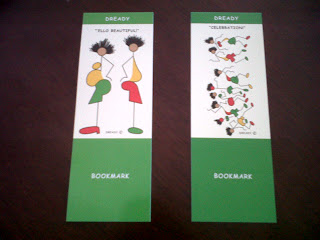 Dready, Dready Art and Everything Dready bookmarks