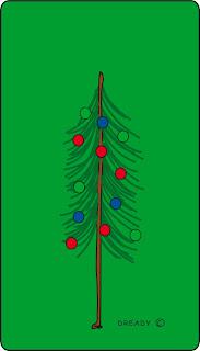Dready, Dready Art and Everything Dready christmas2Btree2Bcard