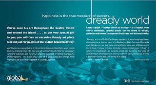 Dready, Dready Art and Everything Dready global2Bgetaway