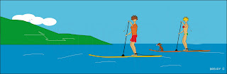 Dready, Dready Art and Everything Dready stand up paddle board2ccc